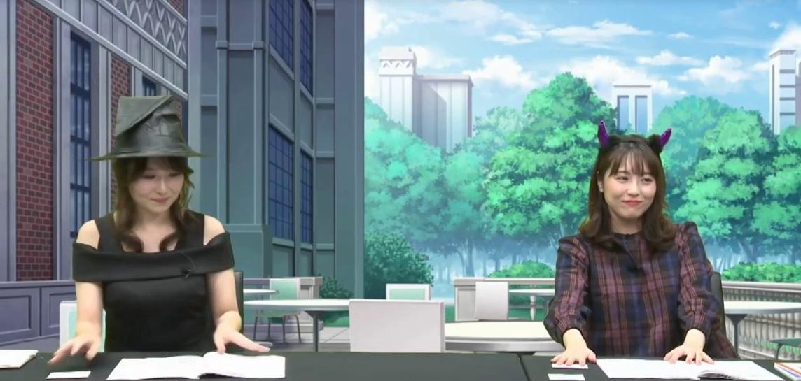 声優のささきのぞみさんと浅倉杏奈さん