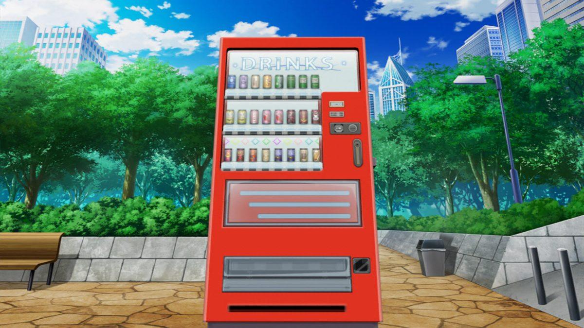 例の 自動販売機 とあるIF